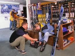 ski shop job