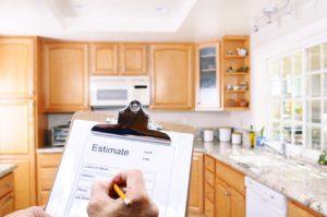 Contractor Writing Estimate