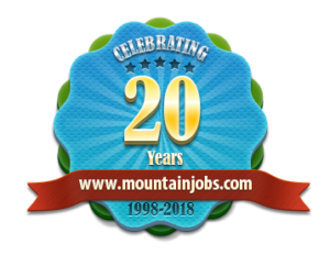 mountainjobs.com anniversary badge